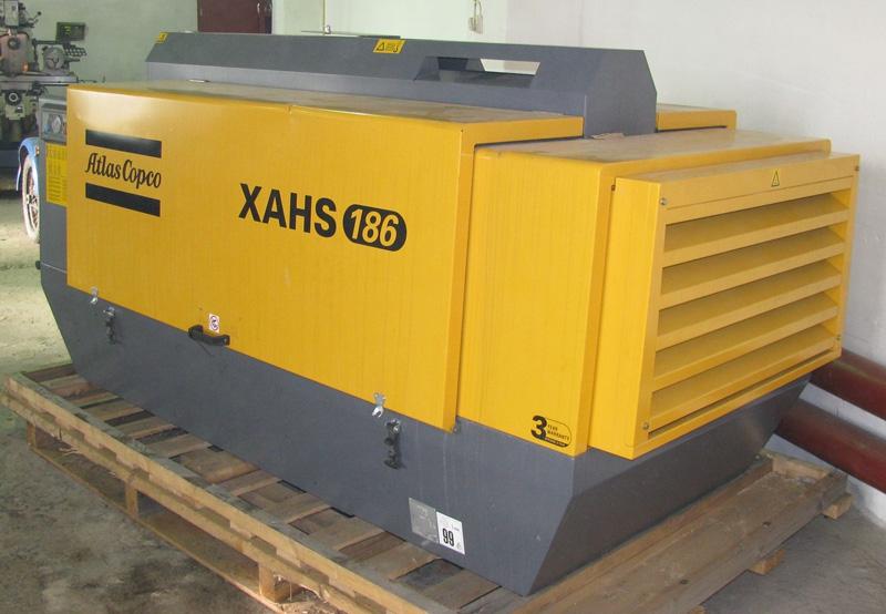 Компрессор Atlas Copco XAHS 186. Увеличить.